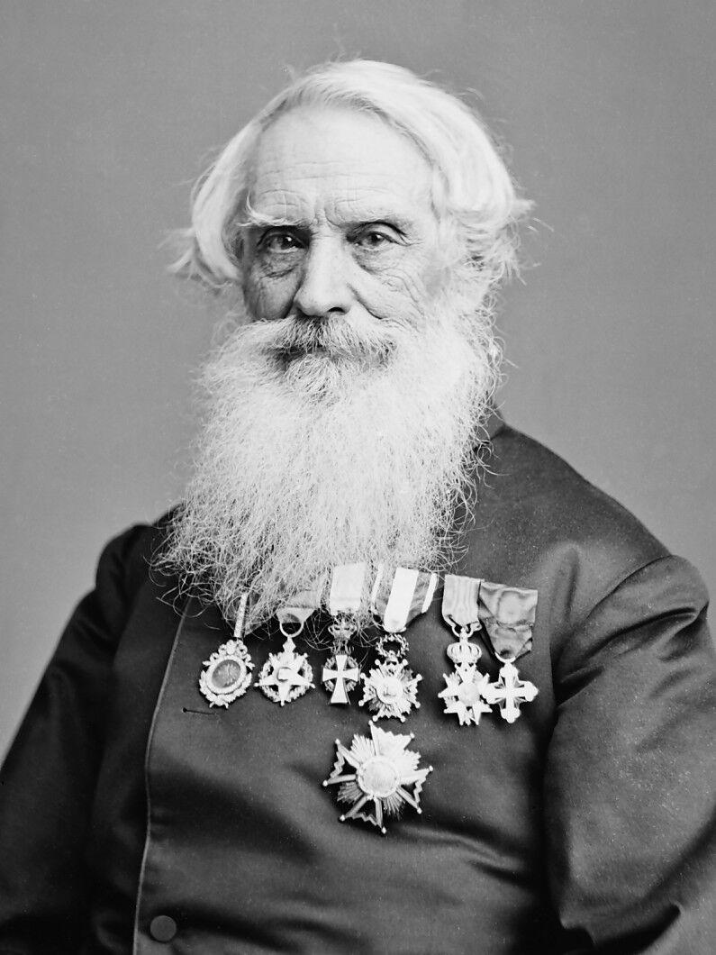 Samuel F.B. Morse. Image: Library of Congress