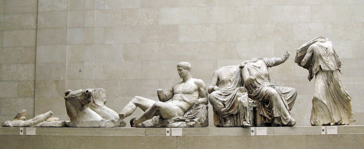The Parthenon Marbles at the British Museum. Photo by Justin Norris, via Flickr.