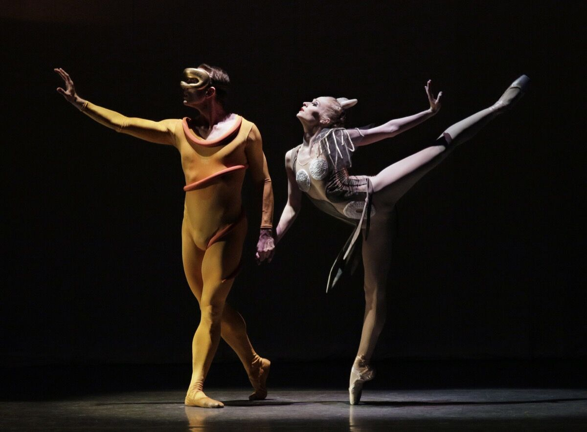 Costumes by Isamu Noguchi. Orpheus Photo by Paul Kolnik. Courtesy of the New York City Ballet.