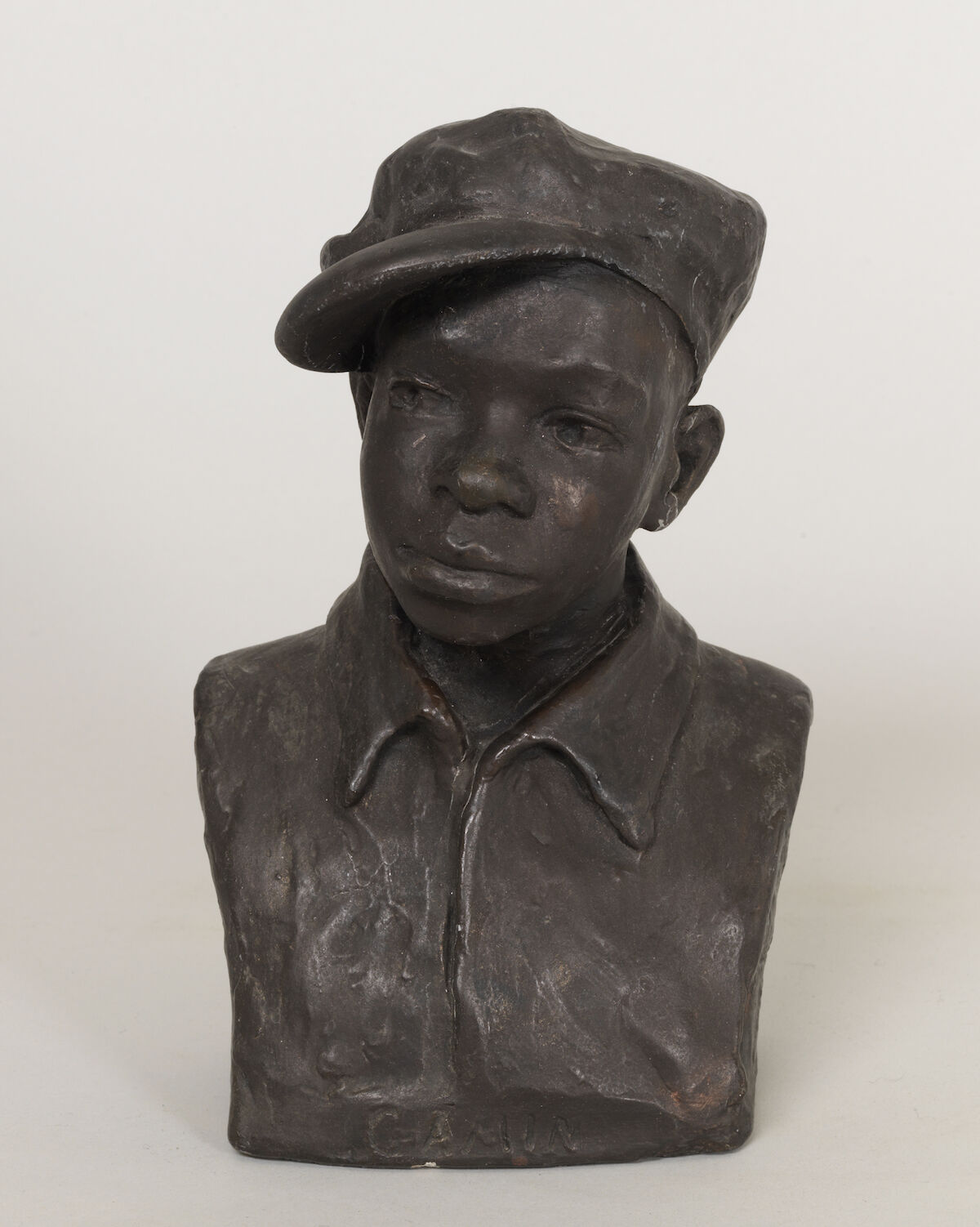 Augusta Savage, Gamin, n.d., plaster. Courtesy the Pennsylvania Academy of Fine Arts.