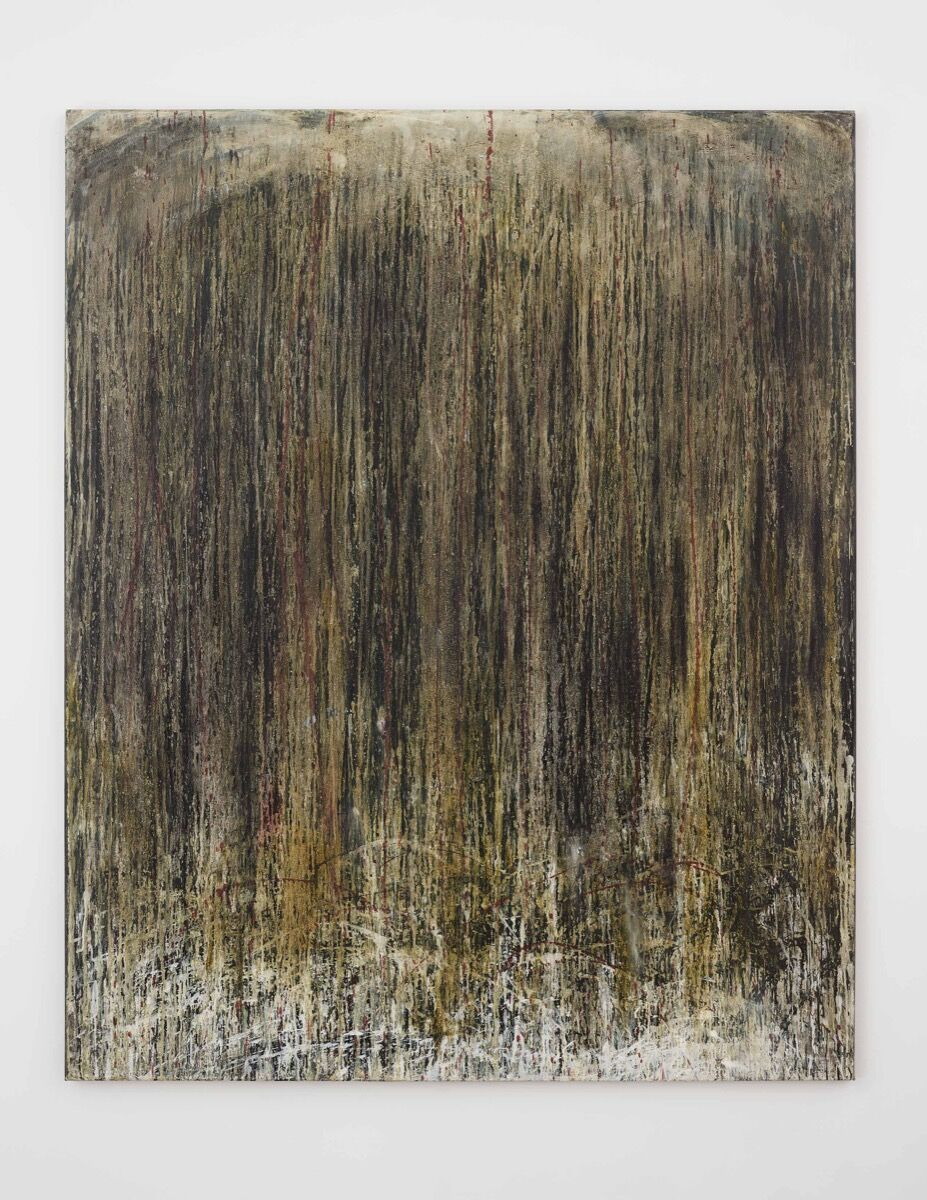 Pat Steir,  Ancient Waterfall , 1989. © 2018 Pat Steir. Photo by Elisabeth Bernstein. Courtesy of Lévy Gorvy.