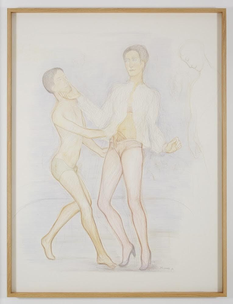 Pierre Klossowski, La generosité de Roberte, 1983. Courtesy of the artist and Gavin Brown's enterprise, New York / Rome.