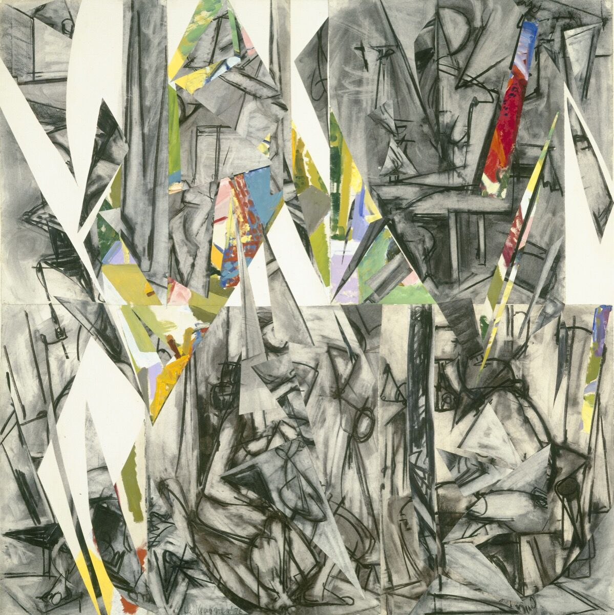 Lee Krasner,  Imperative  , 1976. © The Pollock-Krasner Foundation. Courtesy of the National Gallery of Art, Washington D.C.