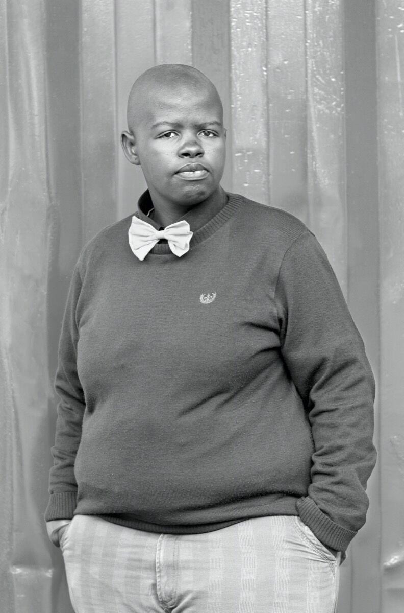 Zanele Muholi, Lungile Cleo Dladla, KwaThema, Community Hall, Springs, Johannesburg, 2011. © Zanele Muholi. Courtesy of the artist; Stevenson, Cape Town / Johannesburg; and Yancey Richardson, New York.