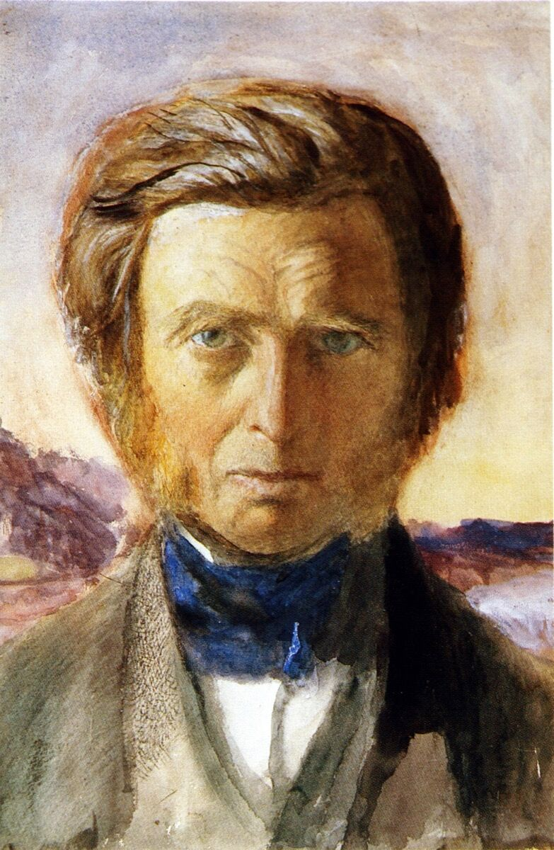 John Ruskin, Self Portrait, 187. Image via Wikimedia Commons.