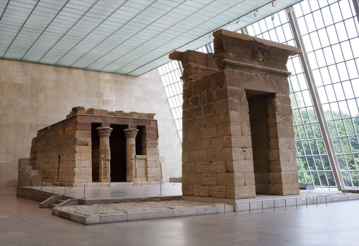 The Temple of Dendur. Courtesy of the Metropolitan Museum of Art.