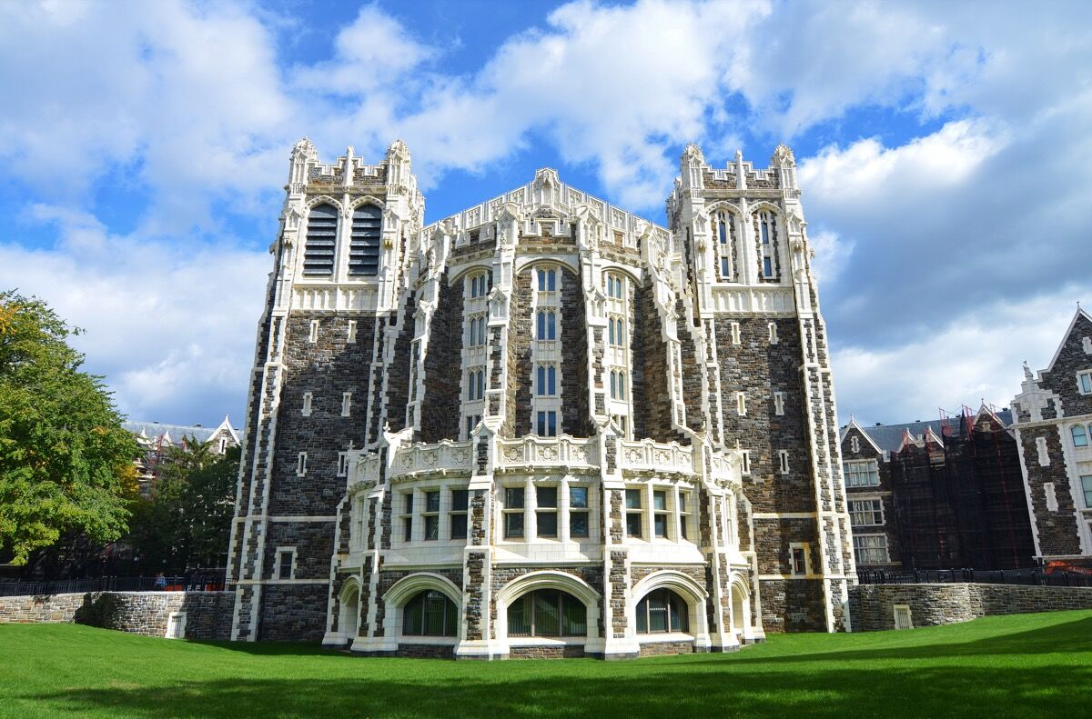 Shepard Hall at the City College of New York. Image via Wikimedia Commons.