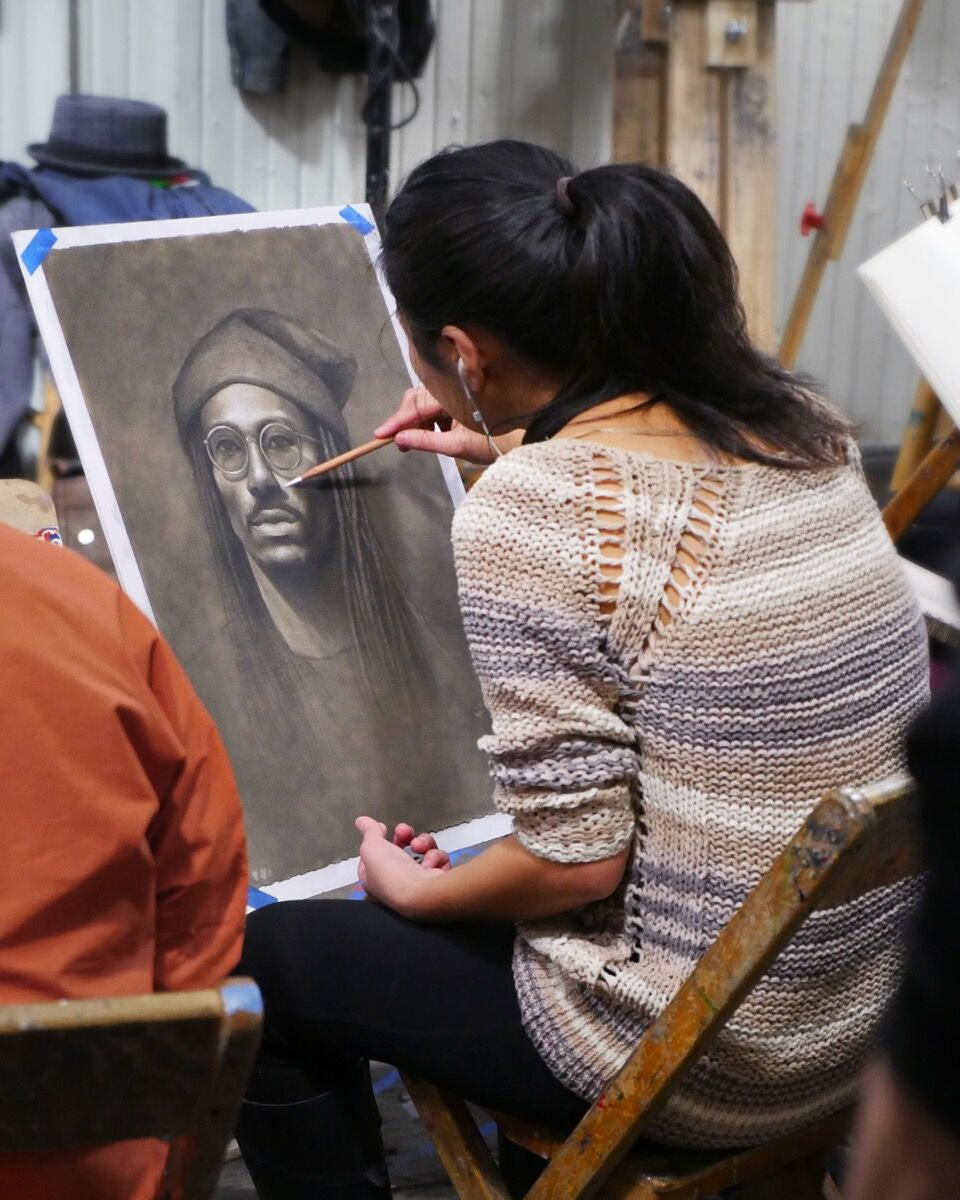 Beginners tips for charcoal drawing artsy