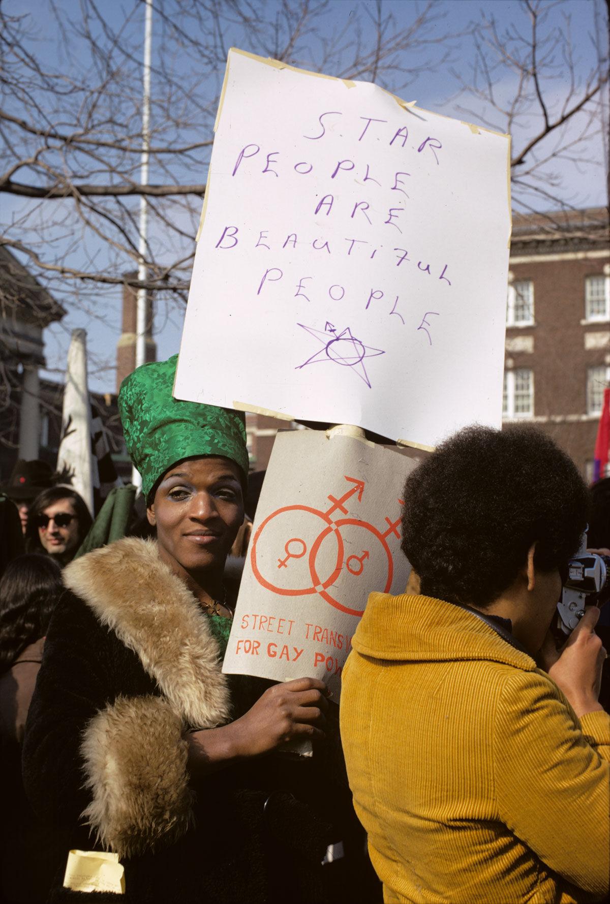 Diana Davies, Gay Rights Demonstrations, Albany, NY, 1971. © The New York Public Library.