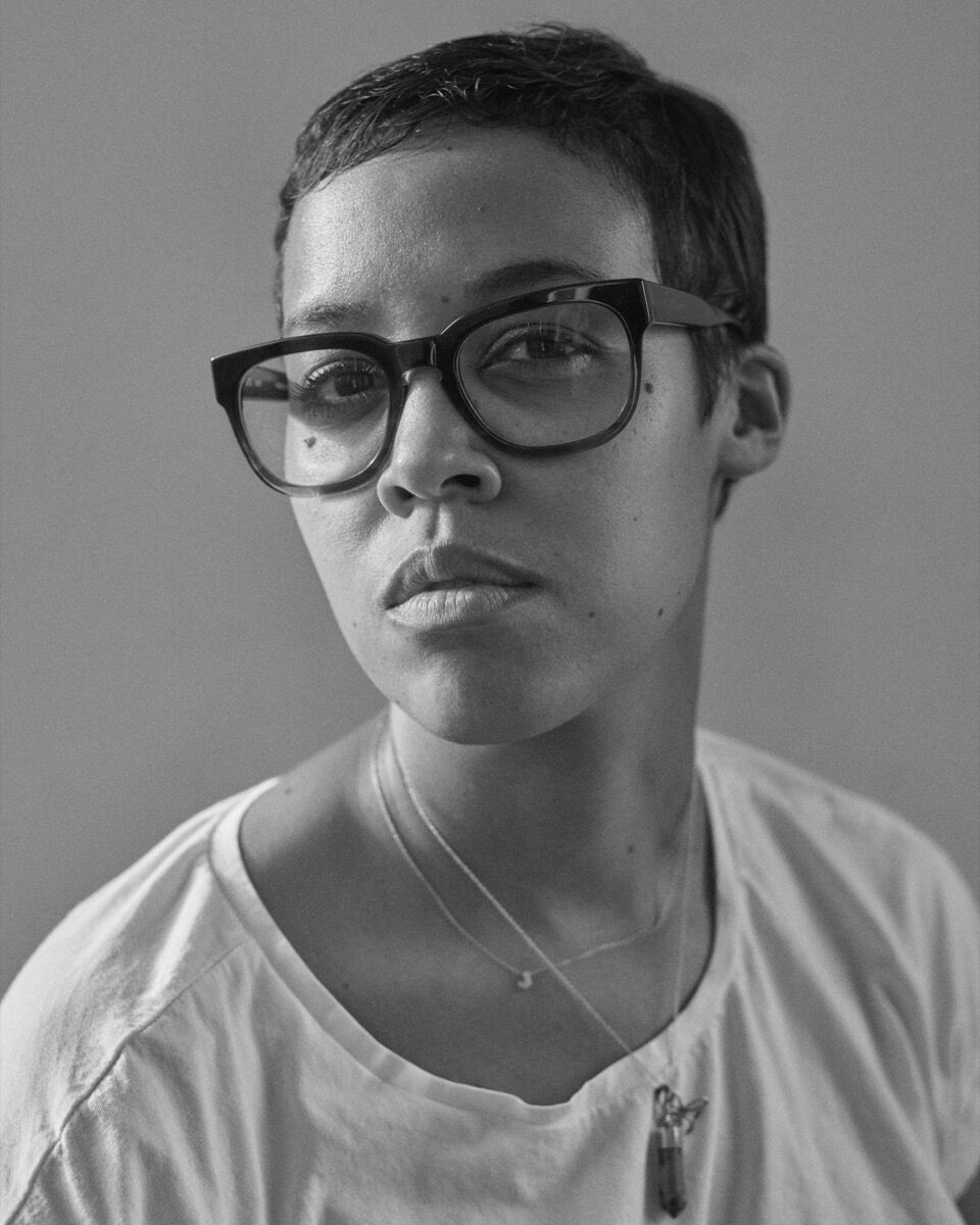 Portrait of Jordan Casteel by David Schulze.