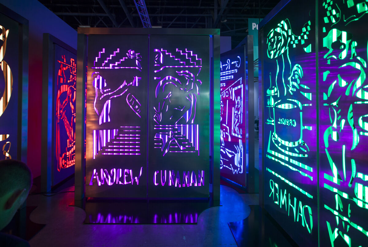 Installation view of Mathew's booth at Art Basel in Miami Beach, 2015.Photo byOriol Tarridas for Artsy.
