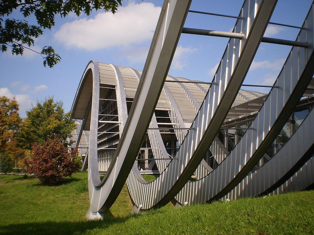 Zentrum Paul Klee, Bern, Switzerland. Photo by LulaMae's via Wikimedia Commons.