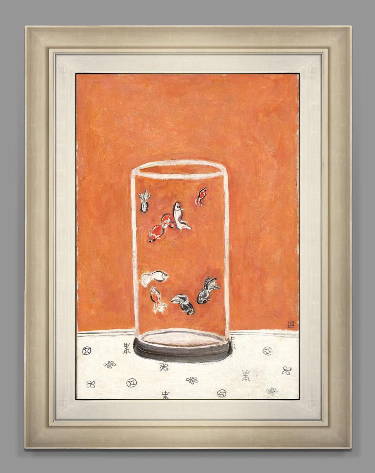 Sanyu, Goldfish, 1930s–1940s. Courtesy Christie's Images Ltd.