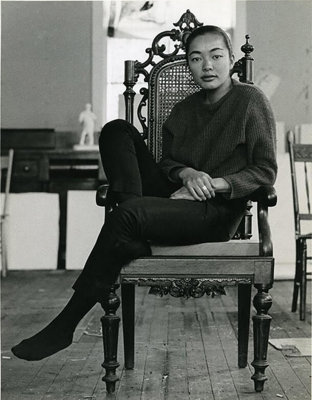 Portrait of Bernice Bing. Courtesy of the artist's estate.