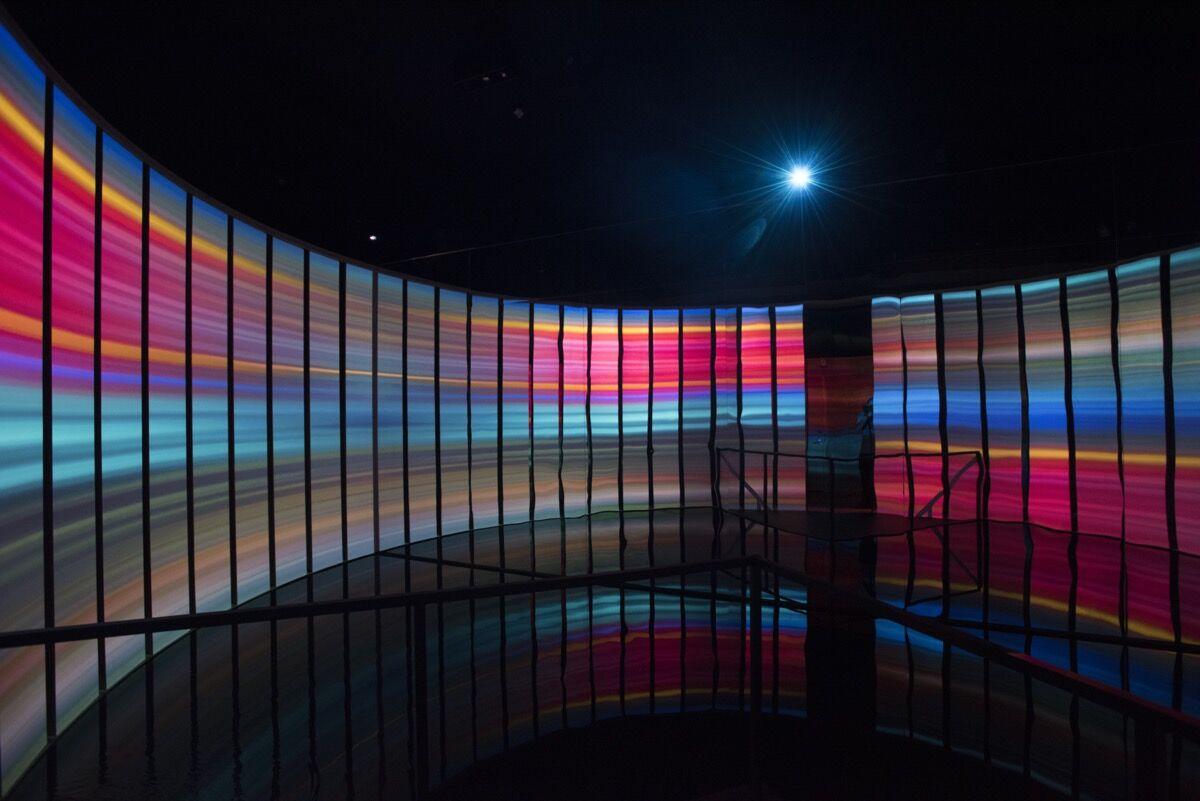 Es Devlin, installation view of Room 2022, 2017, Miami Beach Edition, Miami, 2017. Courtesy of Es Devlin Studio.