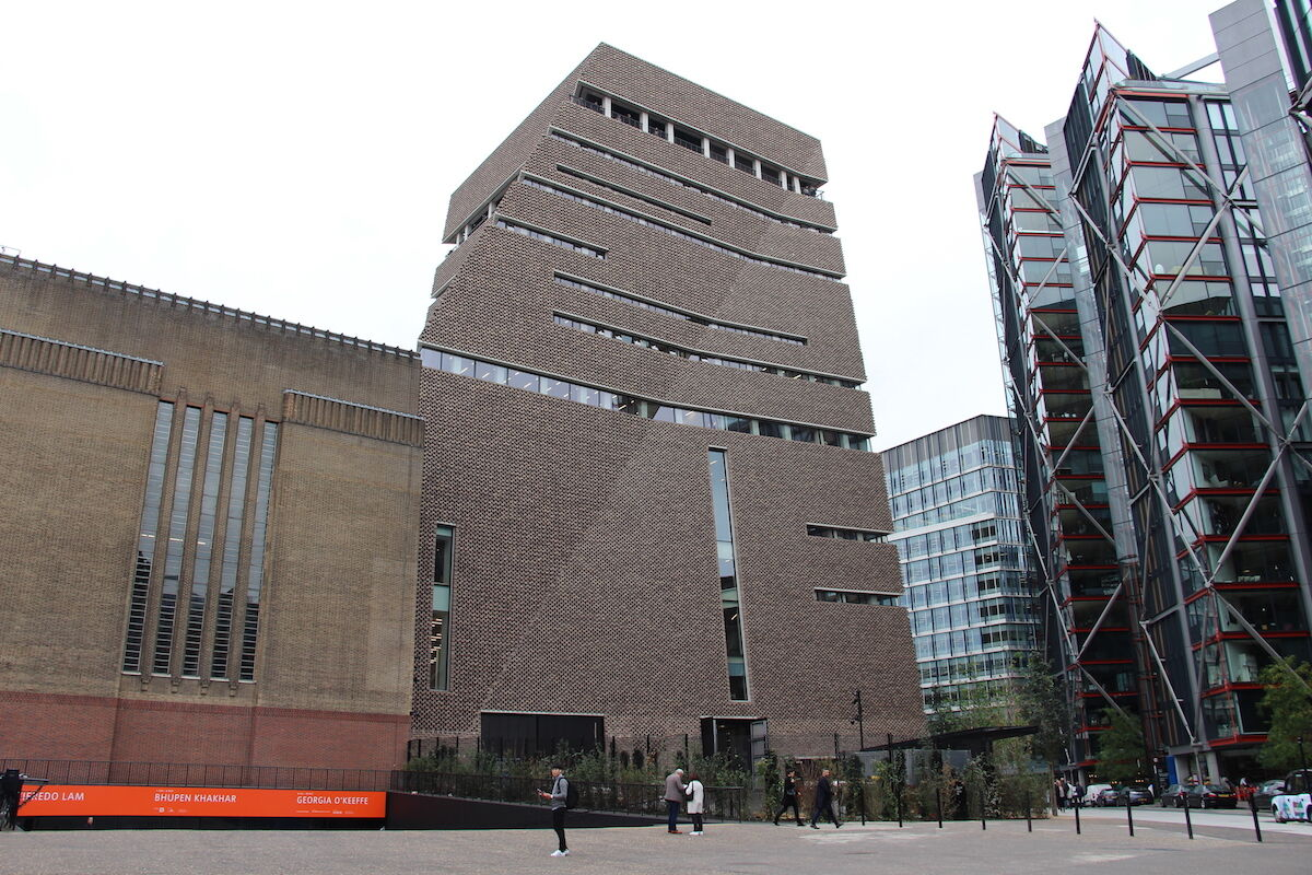 The Switch House at Tate Modern, the site of the incident on Sunday. Photo by Fred Romero, via Wikimedia Commons.