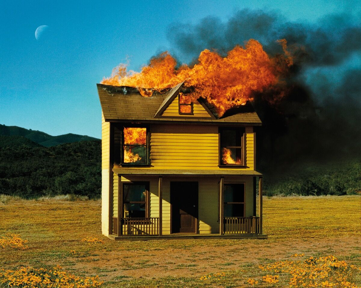 Alex Prager, 4:10pm Sun Valley, from the book Silver Lake Drive, 2012. Published by Chronicle Books.