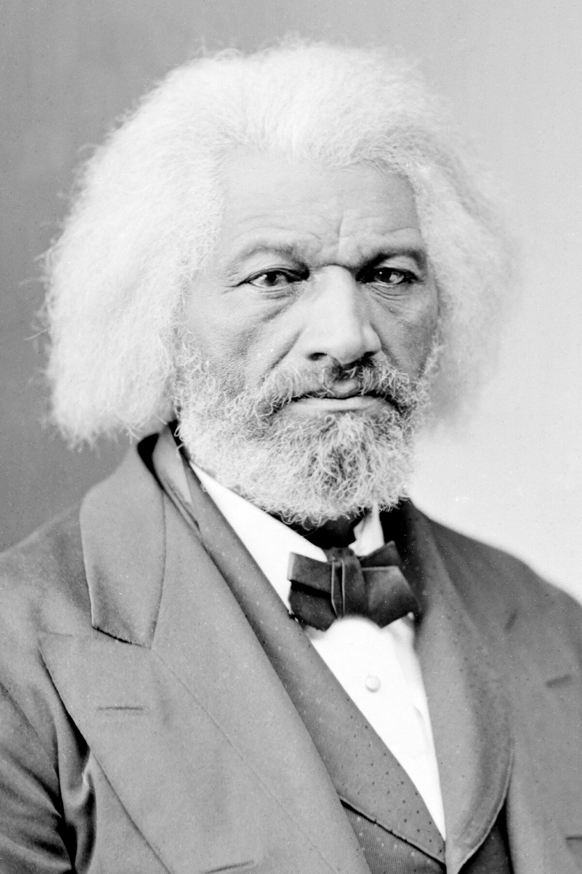 Frederick Douglass, circa 1865–1880. Brady-Handy Photograph Collection, Library of Congress. Image via Wikimedia Commons.