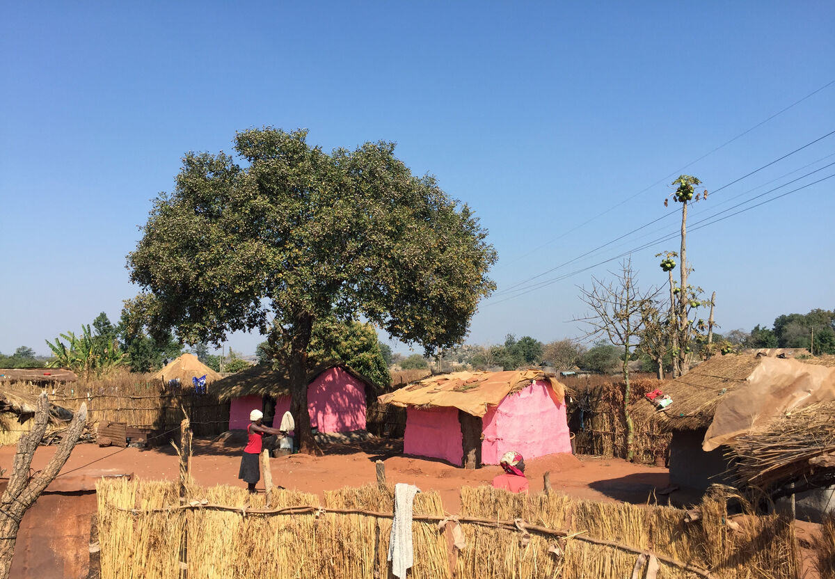 Pink Village by Rachel Monosov, Zimbabwe, 2015. © Catinca Tabacaru and CTG Collective.