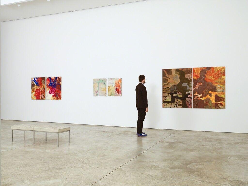 "Installation view of""Bill Jensen: Transgressions,""Cheim & Read, New York. Courtesy Cheim & Read."