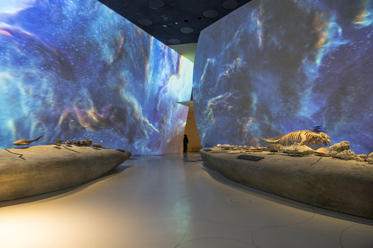 The National Museum of Qatar opened in a dramatic new Jean