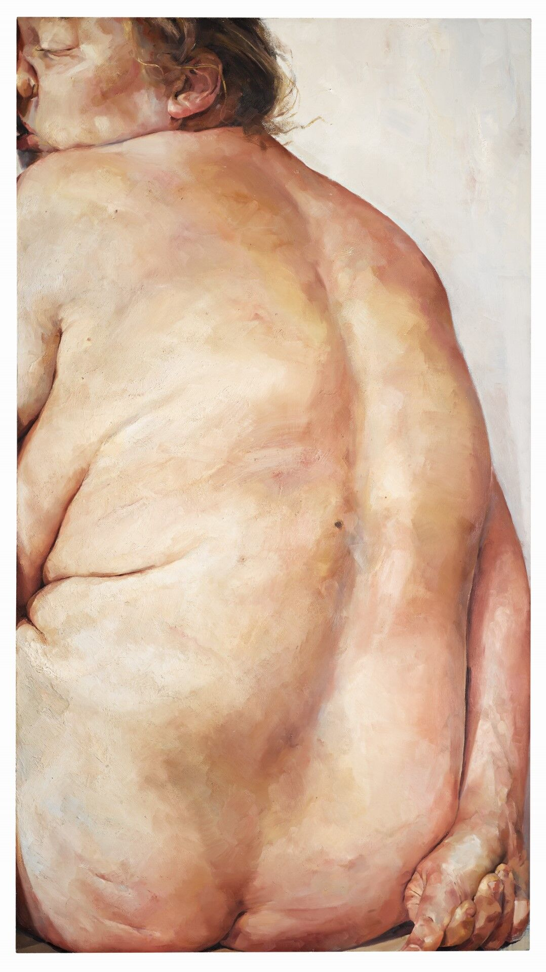 Jenny Saville, Juncture, 1994. Courtesy of Sotheby's.