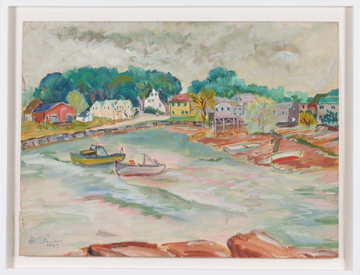 Betty Parsons, Rockport, 1943. Courtesy of Alexander Gray Associates. © Betty Parsons Foundation.
