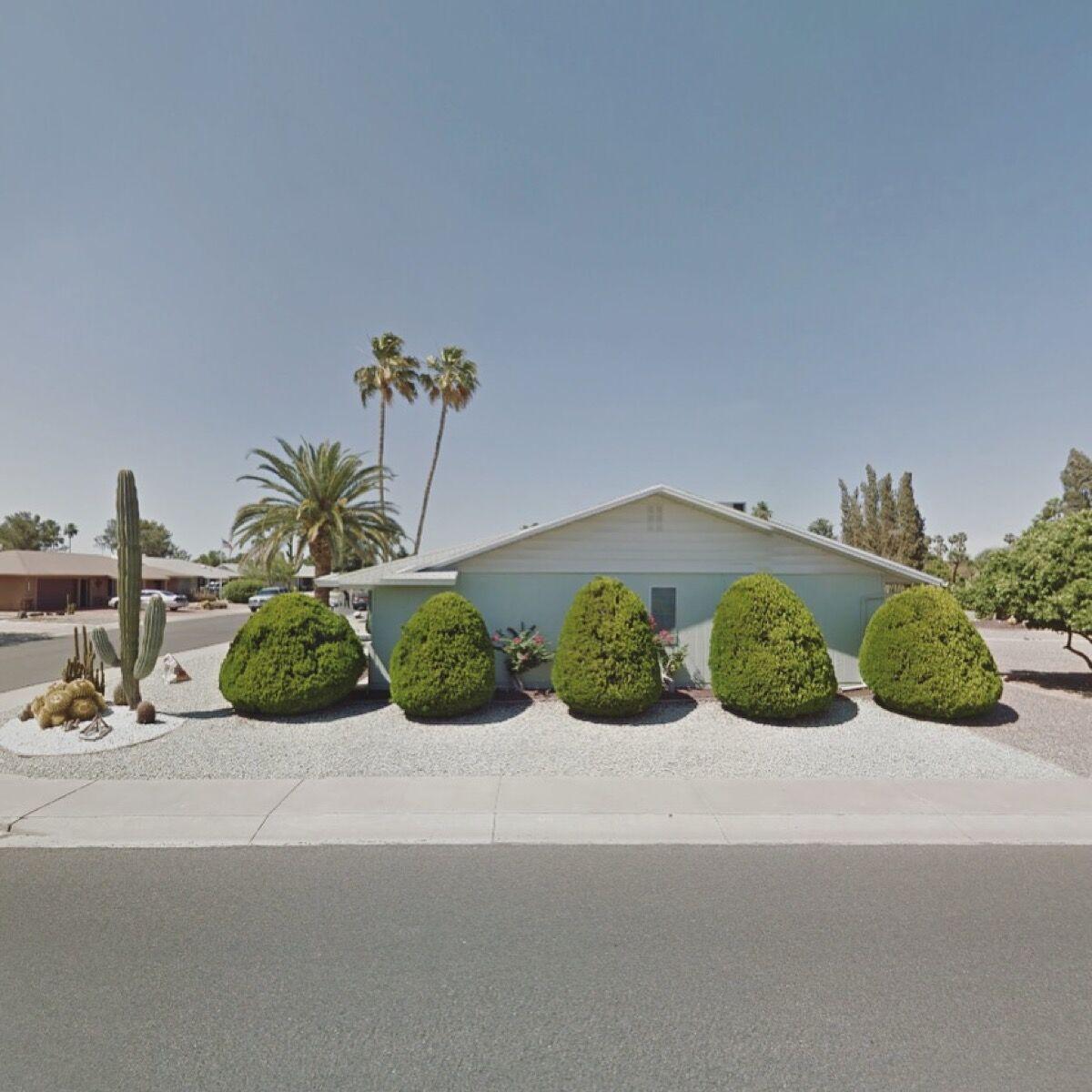 Sun City, Arizona, United States. Photograph by Jacqui Kenny via Google Street View.