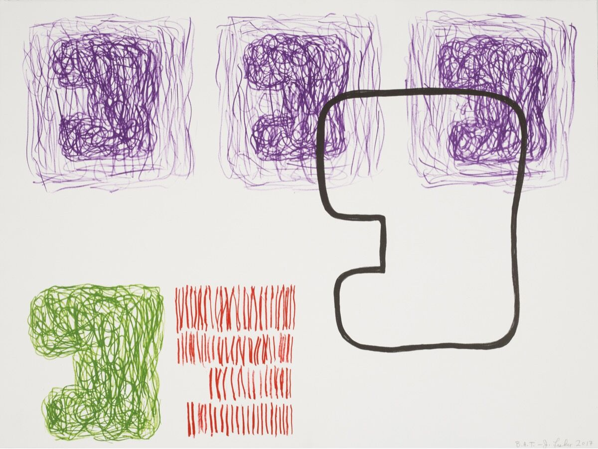 Jonathan Lasker, Virtuous Repitition, 2017. Courtesy of Galerie Sabine Knust.