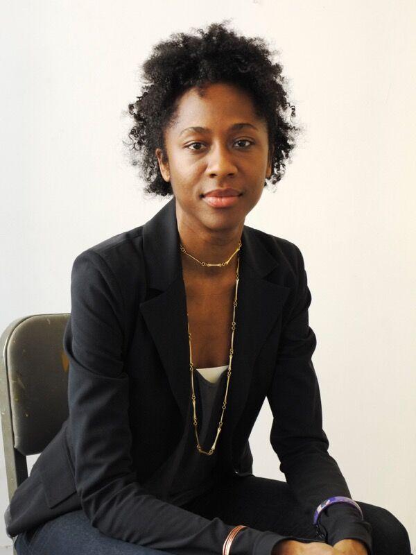 Portrait of Naomi Beckwith. Photo by Paul Mpagi Sepuya.