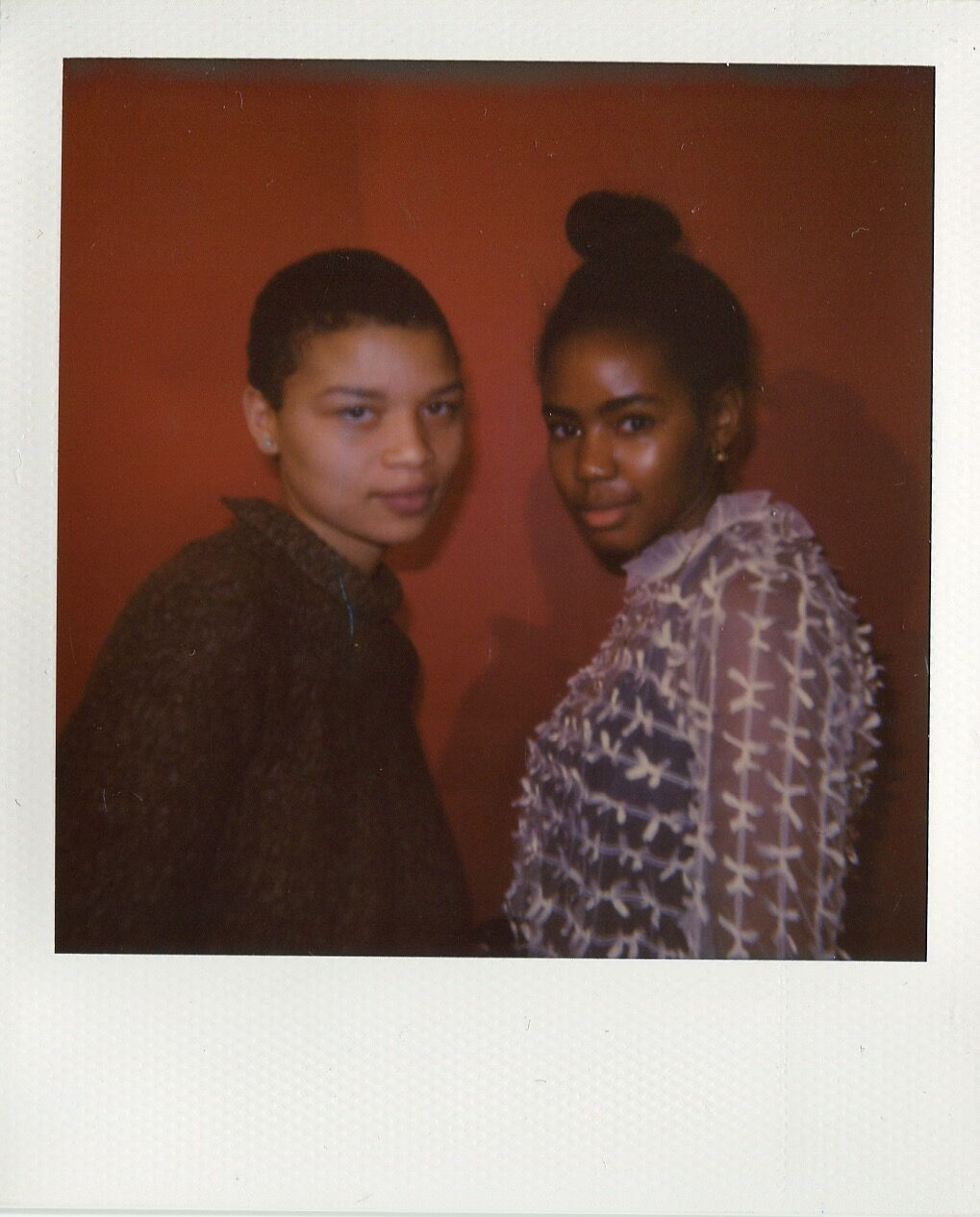 A'nisa Megginson and Laura Walton. Photo by Micah Pegues. Courtesy of Polychrome Mag.