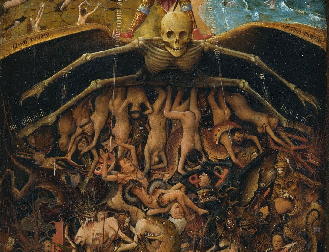 Detail view of Jan Van Eyck, The Last Judgment, ca. 1440–1441. Photo via Wikimedia Commons.