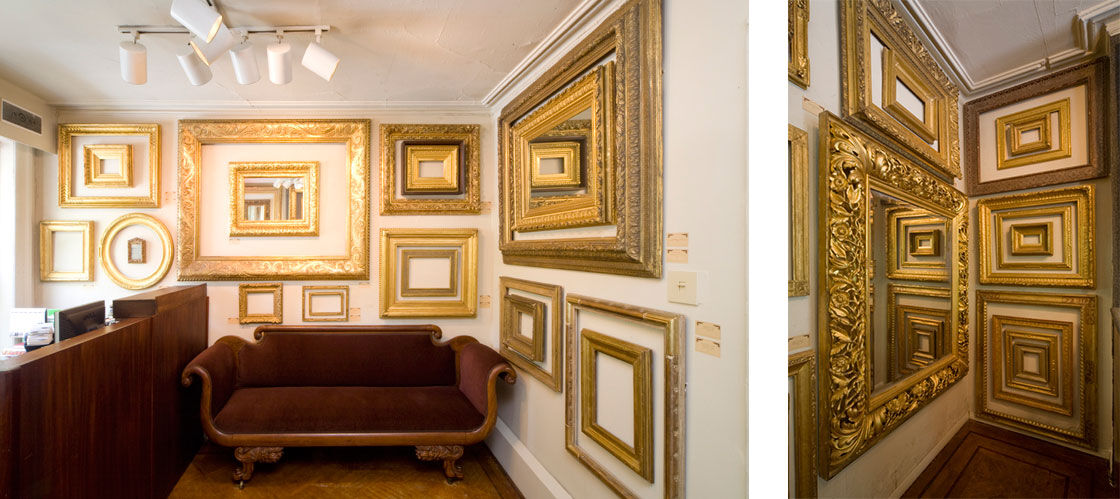 Photos of Eli Wilner Gallery courtesy of Eli Wilner.
