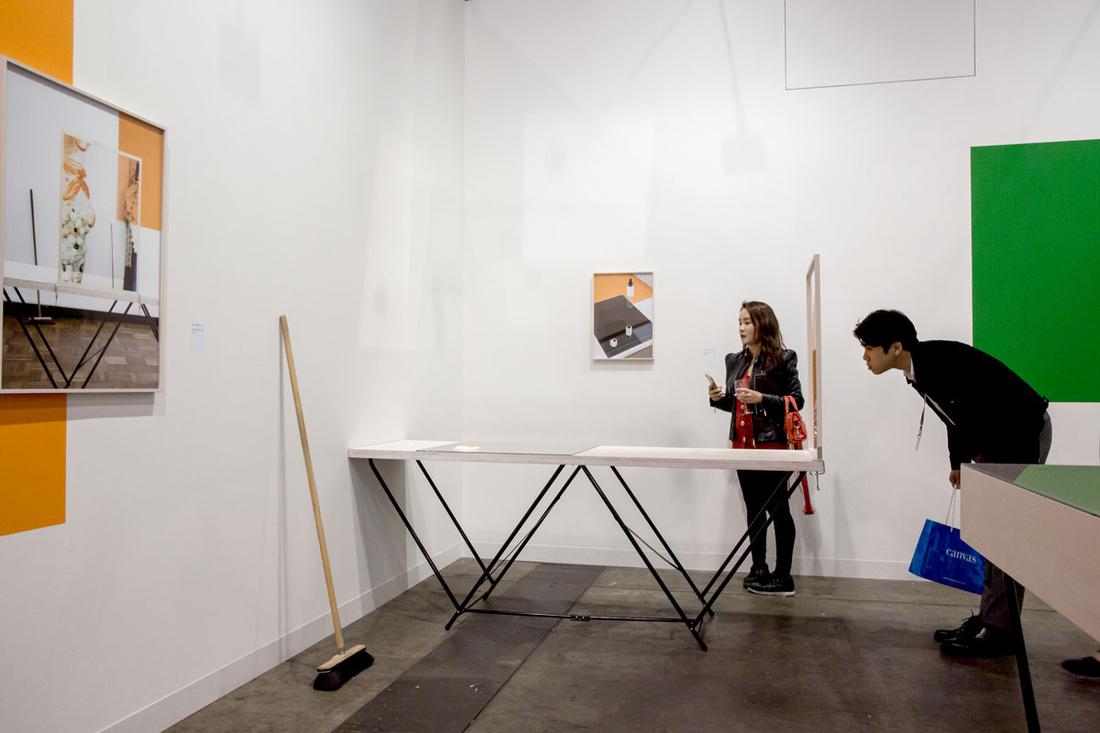 Installation View Of Kadel Willborns Booth At Art Basel In Hong Kong 2017 Courtesy