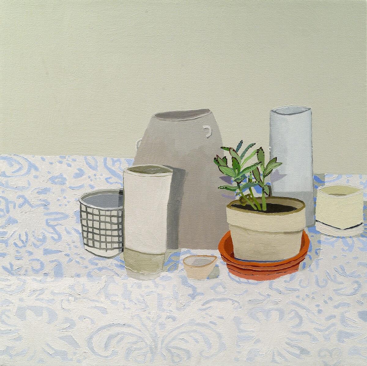 Jonas Wood, Shio's Still Life, 2006. © Jonas Wood. Courtesy of the artist and Black Dragon Society.