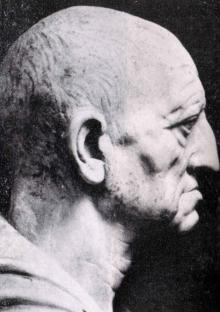 Cabeza de un patricio romano de Otricoli, c.  75-50 a. C.  Imagen vía Wikimedia Commons.