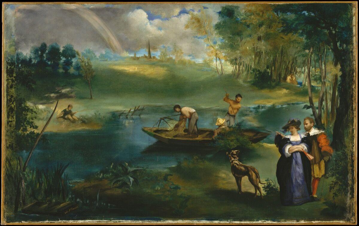 Édouard Manet, Fishing, 1862-63. Courtesy of The Metropolitan Museum of Art.