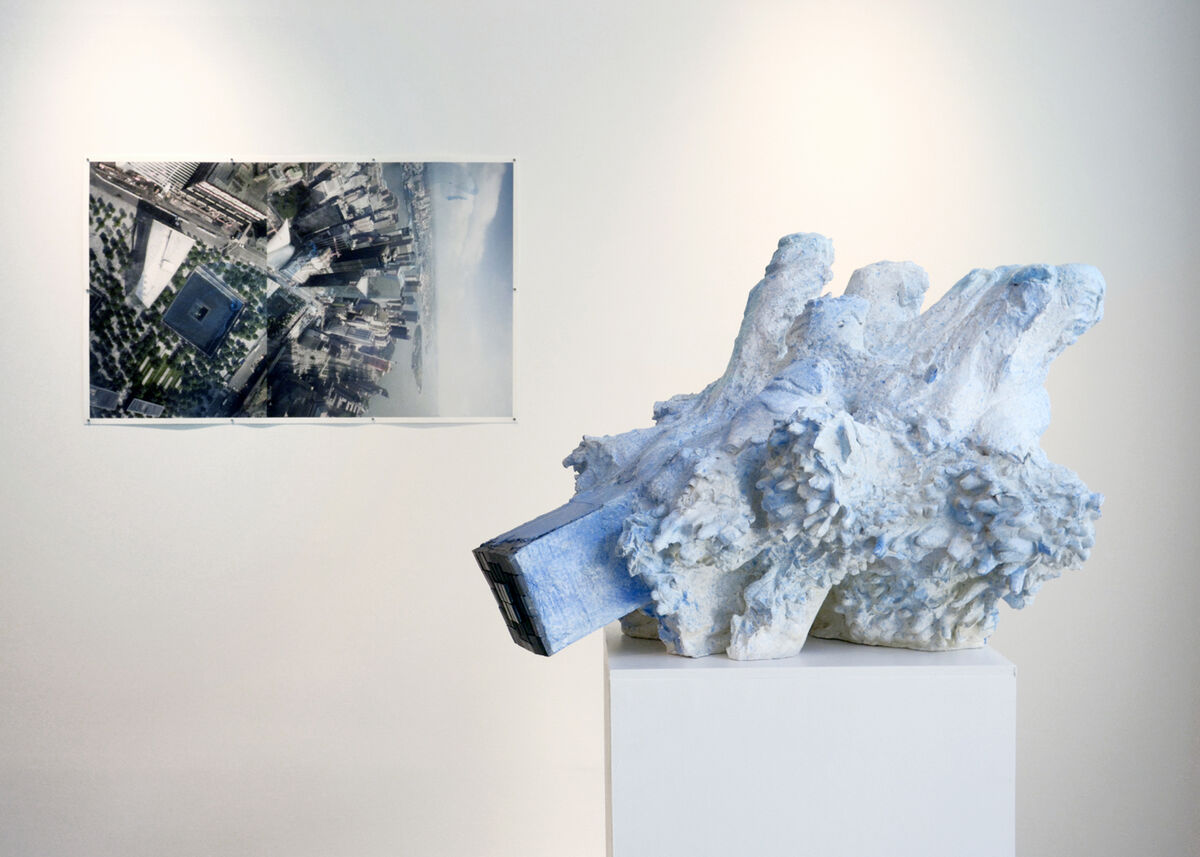 """Installation view of """"Borrowing an Easterly Wind,""""Klein Sun Gallery, New York.CourtesyKlein Sun Gallery and the artist."""