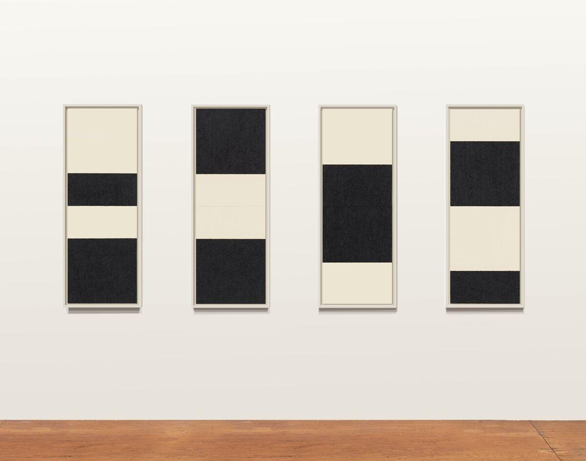 "Installation view of ""Richard Serra: Reversals"" at Gemini G.E.L. Courtesy Gemini G.E.L. and the artist."