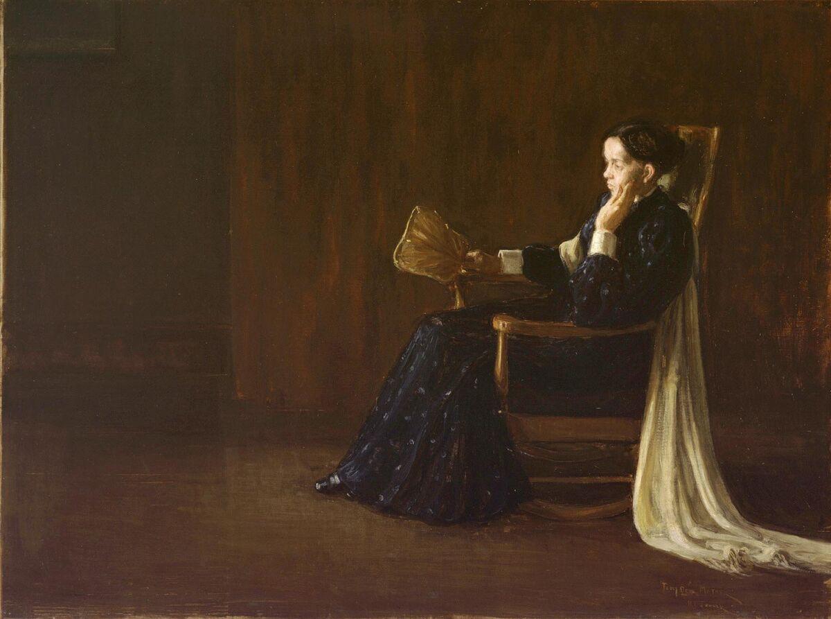 Henry Ossawa Tanner, Portrait of the Artist's Mother, 1897. Courtesy of Philadelphia Museum of Art.