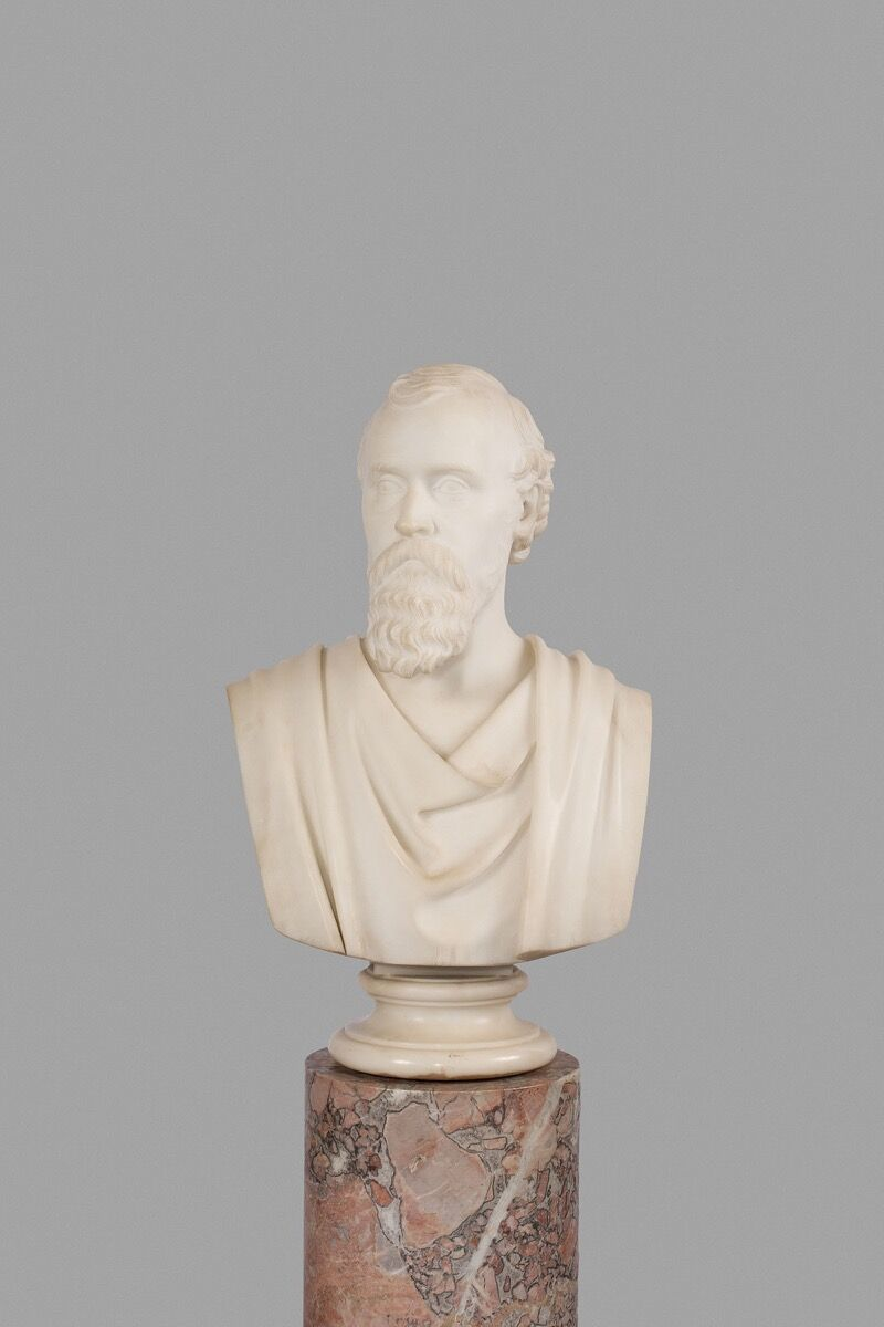 Hiram Powers, Mr. Potter Palmer, 1871. Courtesy of the Art Institute of Chicago.