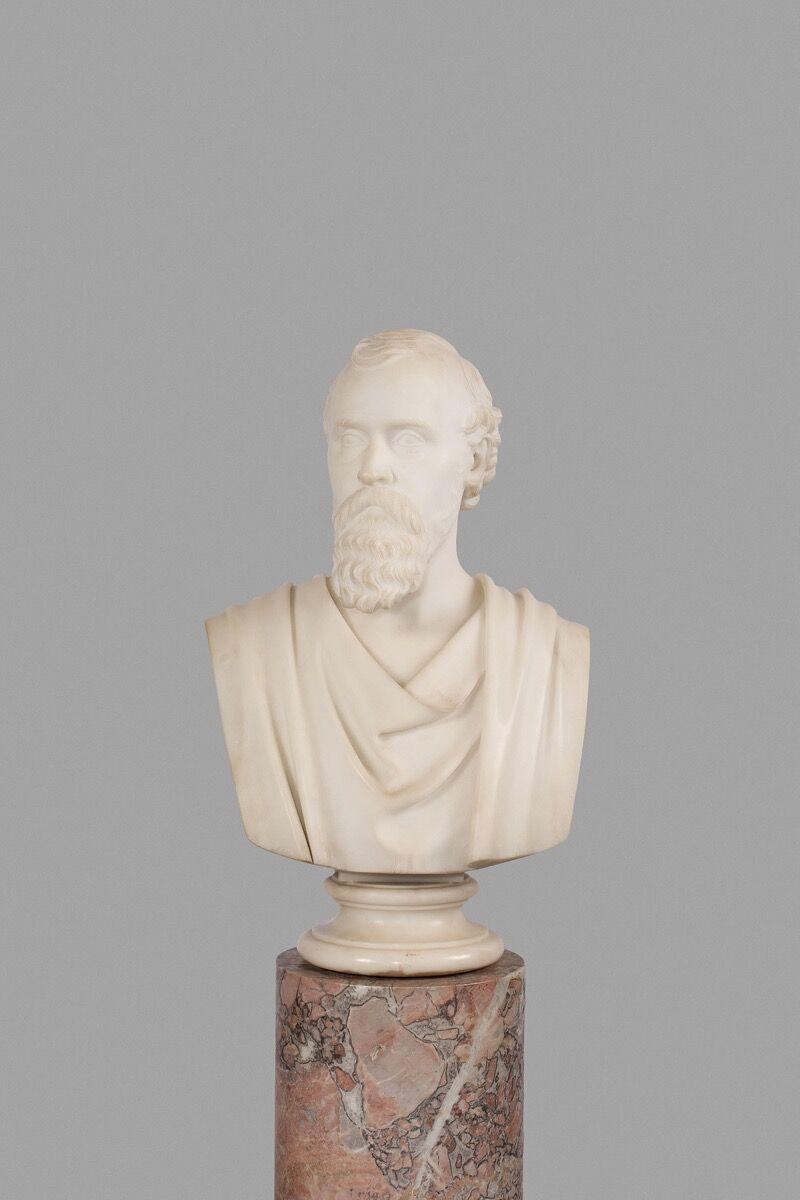 Hiram Powers, Sr. Potter Palmer, 1871. Cortesía del Instituto de Arte de Chicago.