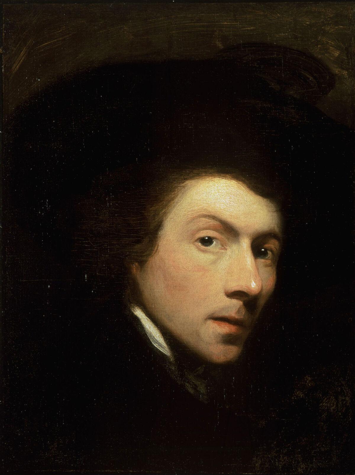 Gilbert Stuart, Self-portrait, 1778. Image via Wikimedia Commons.
