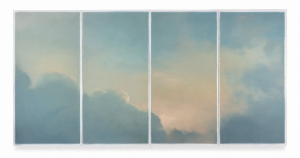 Gerhard Richter, Wolken (fenster), 1970. Courtesy of Sotheby's.