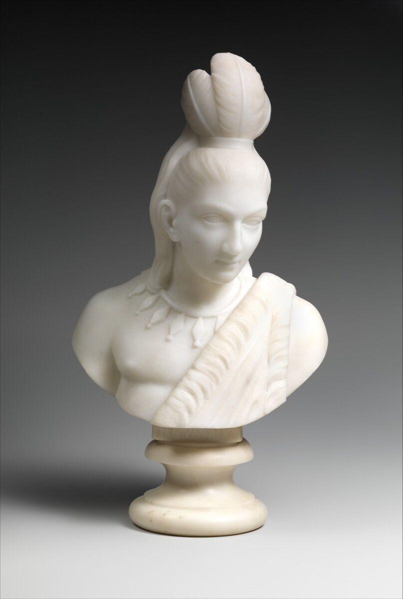 Edmonia Lewis, Hiawatha, 1868. Courtesy of The Metropolitan Museum of Art.