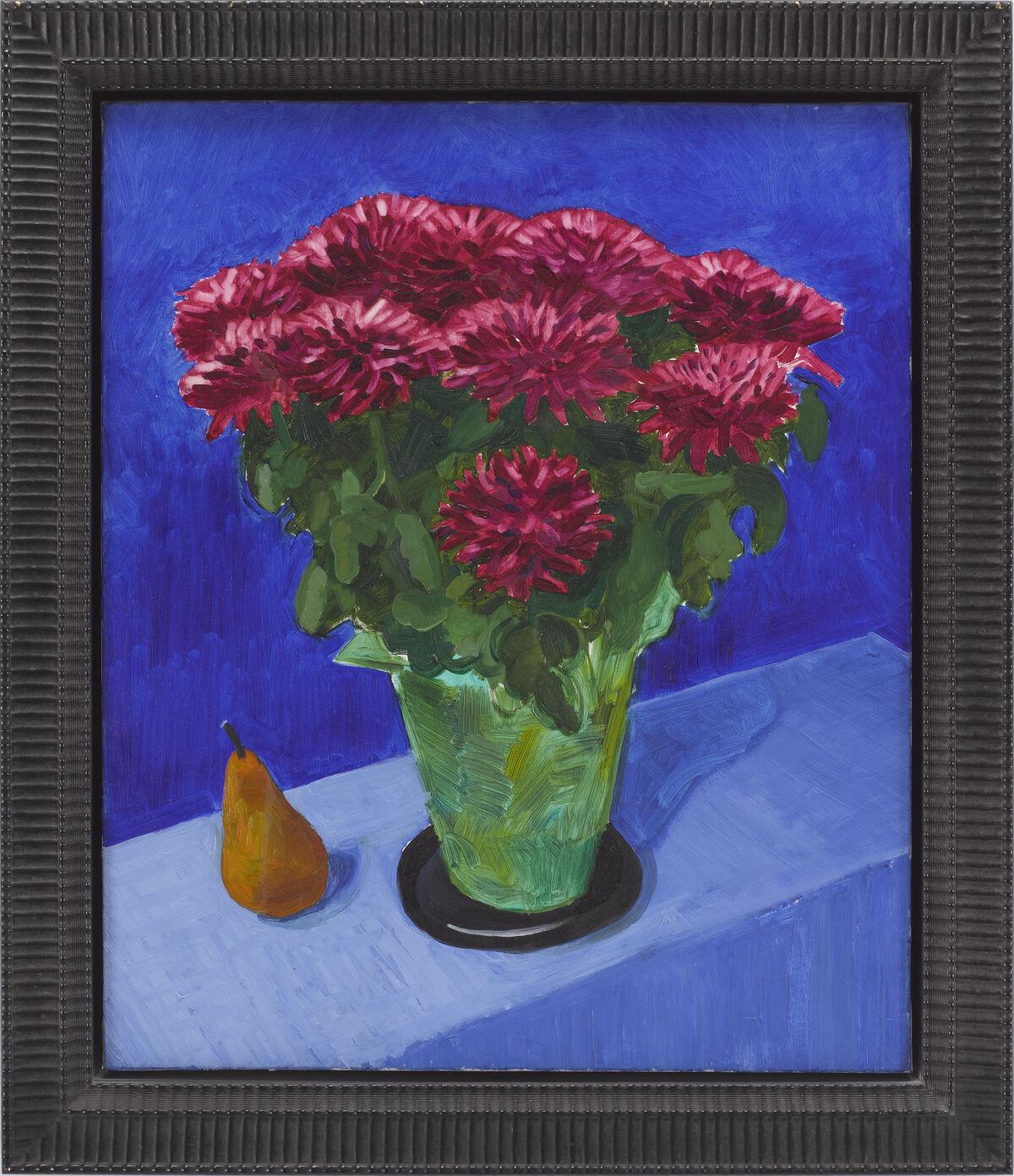 David Hockney, Chrysanthemums, 1996. Courtesy of Pace Gallery.