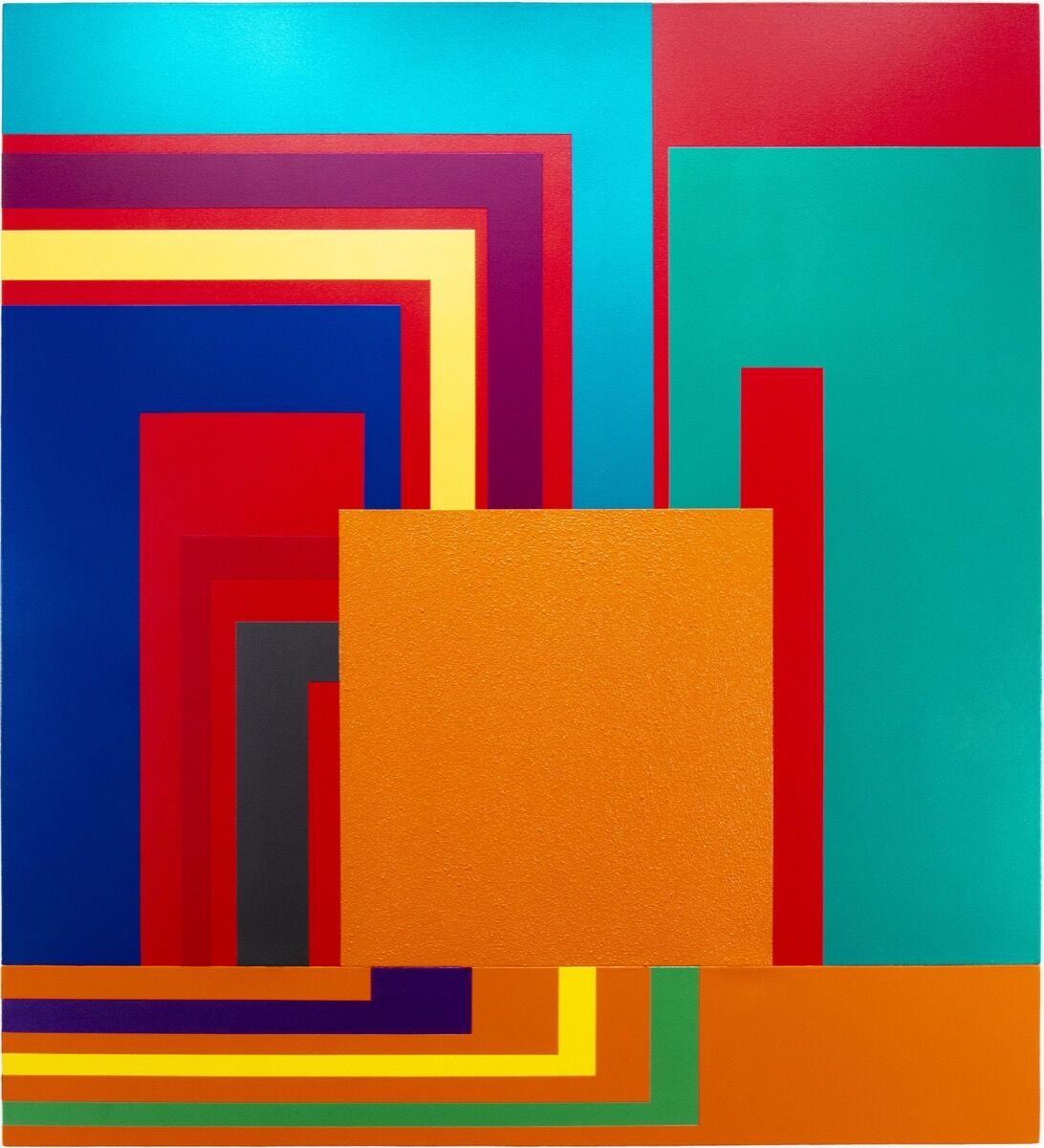 Peter Halley, Emulation, 2002. Courtesy of Sperone Westwater, New York.