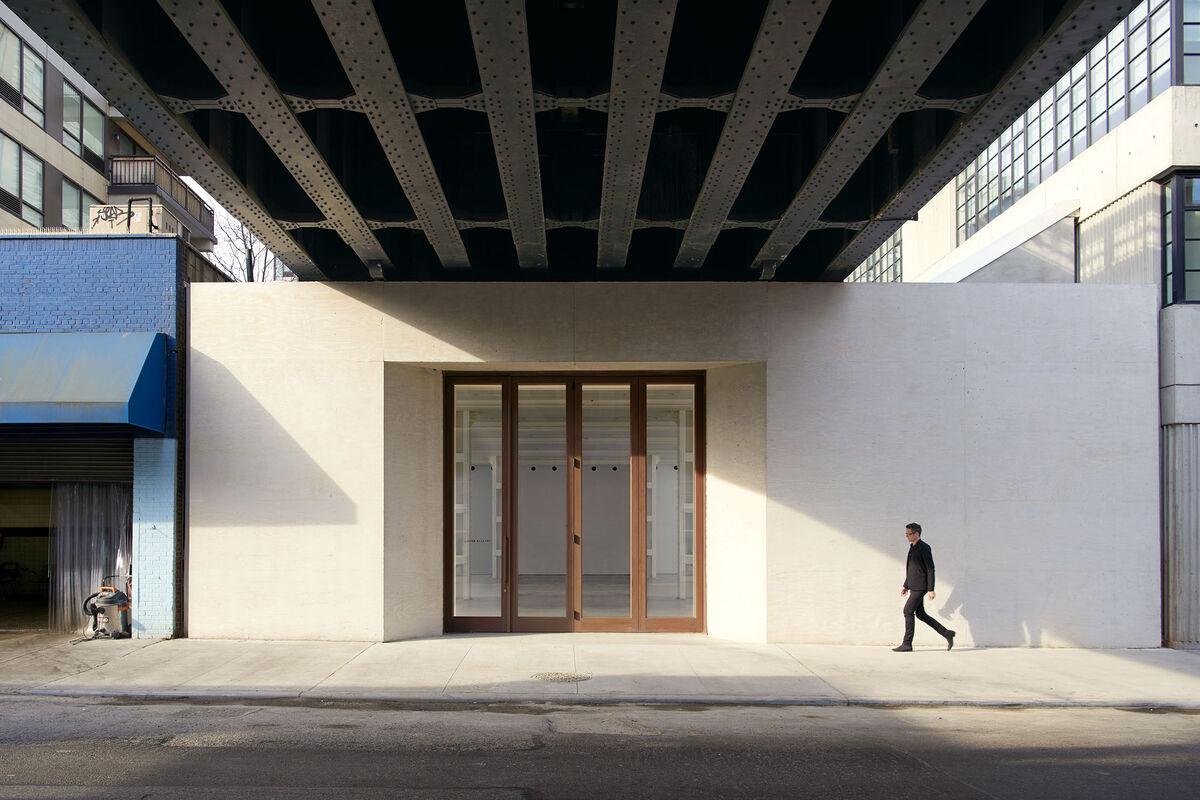 Lisson Gallery, New York. Photo by Jason Schmidt. Courtesy of studioMDA.