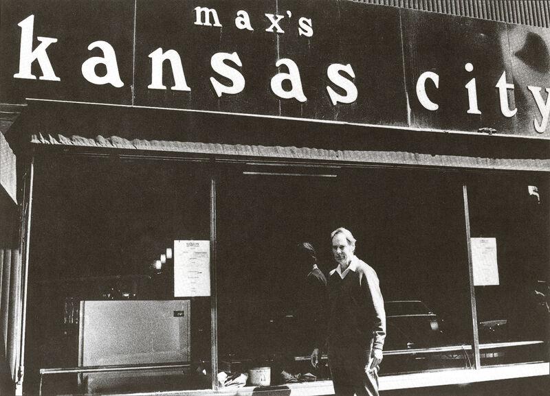 Ronald Bladen, Max's Kansas City, 213 Park Avenue South, c. 1972, Courtesy of the Ronald Bladen Estate and Loretta Howard Gallery, NY.