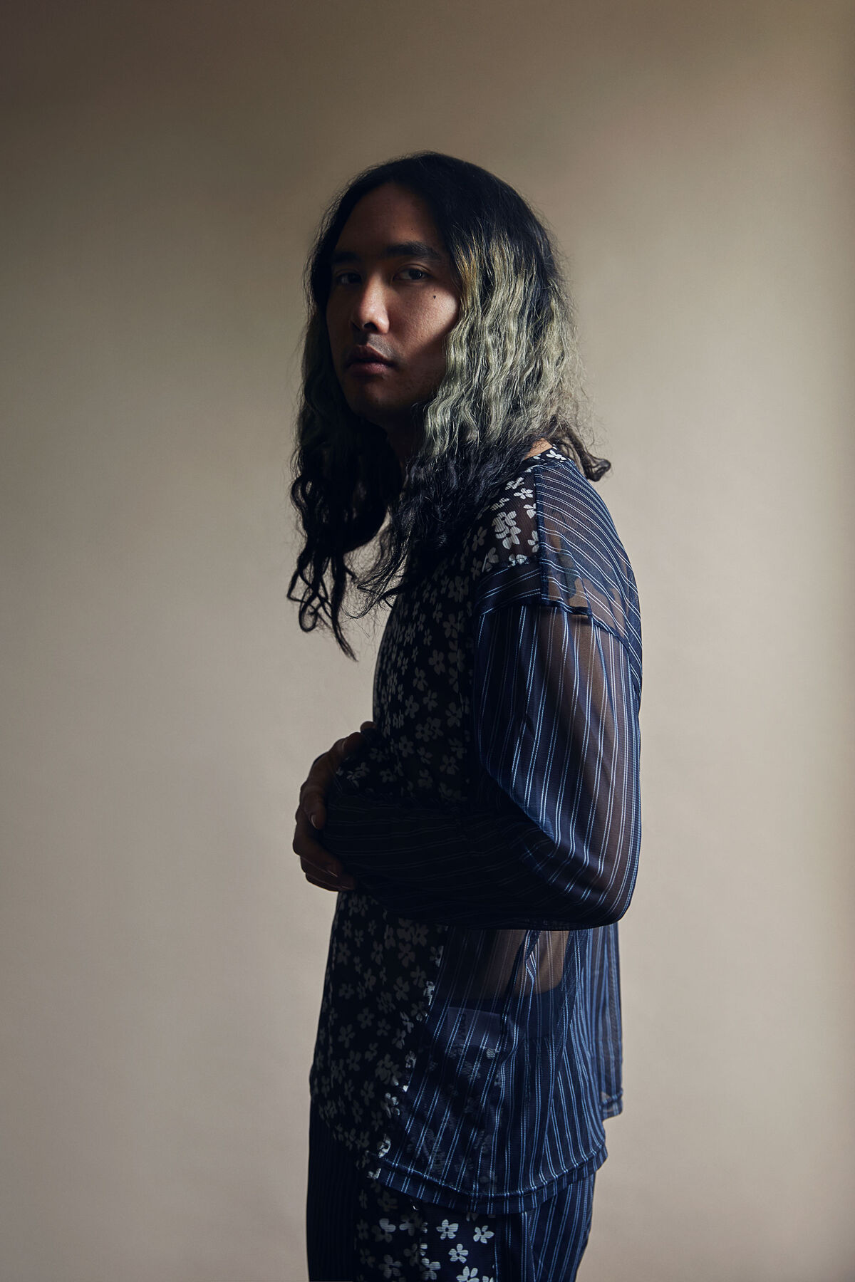 Portraits of Korakrit Arunanondchai by Lelanie Foster for Artsy.